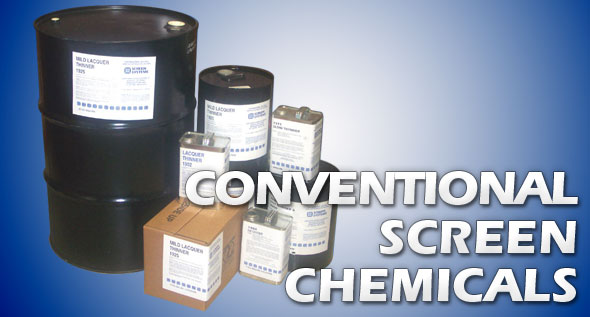 Conventional Screen Chemicals